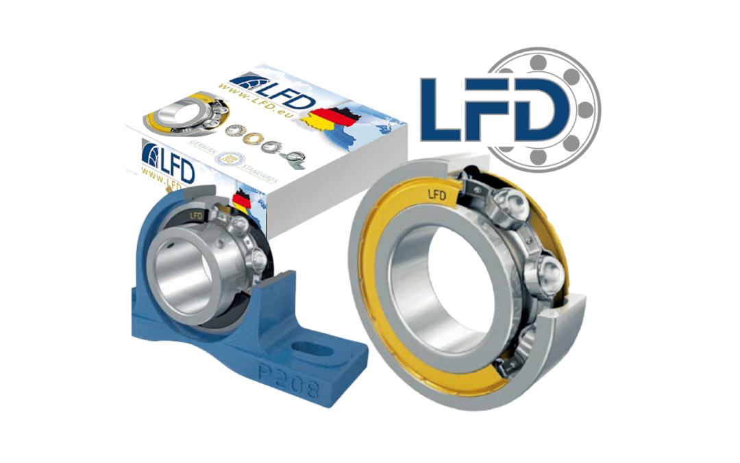 Incorporación de rodamientos y accesorios: LFD